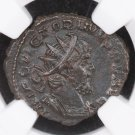 Romano-Gallic Empire.  Ancient Coin.  269-271 AD. NGC Certified For Customer Assurance.