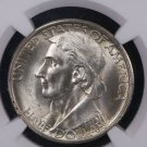 1935 Boone Commemorative Half Dollar.  Problem Free NGC MS 64.