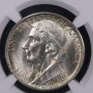 1935 Boone Commemorative Half Dollar.  Problem Free NGC MS 64.