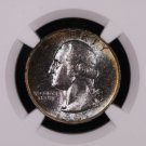 1947-S Washington Silver Quarter. Choice Eye Appeal.  Very Pleasant Tone. NGC MS-66.