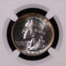 1947-S Washington Silver Quarter. Choice Eye Appeal.  Very Pleasant Tone. NGC MS-66.
