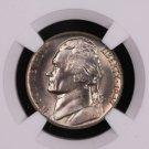 1947-D Jefferson Nickel.  NGC Certified, MS-65. Nice Type Set Coin.