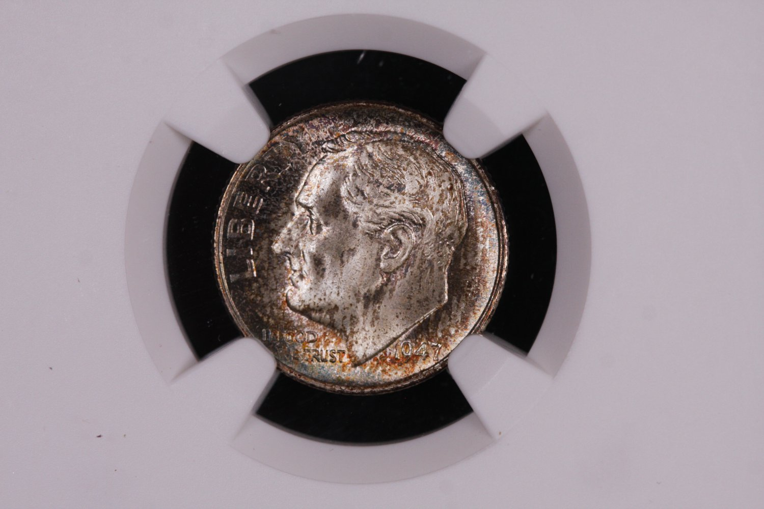 1947-S Roosevelt Silver Dime.  NGC Certified.  MS-66 F.T.  Nice Collectible.