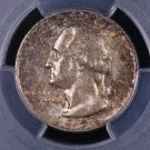 1955-D Washington Silver Quarter. PCGS Certified.  MS-65. #6350