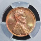 1955-D Lincoln Wheat Cents. Authentic PCGS Holder.  MS-64 R/B. #6363.