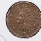 1865 Indian Head Penny.  A.U. Graded Coin. Nice Problem Free. Store # 8269