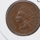 1873 Indian Head Penny.  OPEN 3.  Extra Fine Circulated Coin.  Store Sale #8281