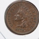 1878 Indian Head Cents.  Nice Eye Appeal.  About UN-Circulated Coin. Store Sale#8291