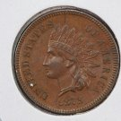 1879 Indian Head Penny.  Nice A.U.-55, Circulated Small Cent's. Store Sale #8293