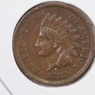 1882 Indian Head Penny.  Extra Fine, Plus, Circulated Coin. Store Sale #8297