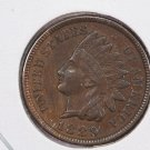 1889 Indian Head Penny.  Extra Fine Circulated Coin.  Store Sale # 8305