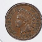 1890 Indian Head Penny.  Extra Fine Circulated Coin.  Store Sale # 8307