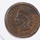 1896 Indian Head Cents.  Very Good Circulated Coin.  Store Sale #8317