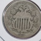 1869 Shield Nickel.  Good Circulated Coin.  Store Sale # 8417