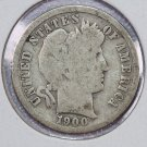 1900-S Barber Dime.  Good Circulated Coin.  Store Sale #8513