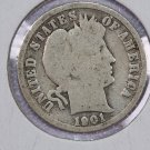 1901-O Barber Dime. Good Circulated Coin.  Store Sale 8517.