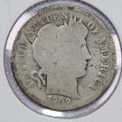 1908-S Barber Dime.  About Good Circulated Coin.  Store Sale #8565