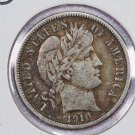 1910-D Barber Dime.  Very Fine Circulated Coin.  Store Sale #8577.