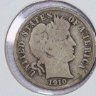 1910-S Barber Dime.  Very Good Circulated Coin.  Store Sale # 8579
