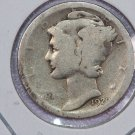 1920-D Mercury Silver Dime.  Good Circulated Coin. Store Sale # 8612
