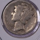 1921-D Mercury Silver Dime.  Another SEMI-Key Date Collectible Dime.  Store Sale #8616