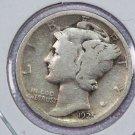 1925 Mercury Dime.  Good Circulated Coin.  Store Sale # 8628