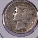 1925-D Mercury Silver Dime.  Good Circulated Coin. Store Sale # 8630. Harder Date.