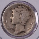 1925-S Mercury Dime.  Good Circulated Coin.  Store Sale # 8634