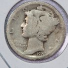 1926-D Mercury Dime.  About Good Circulated Coin.  Store Sale # 8638