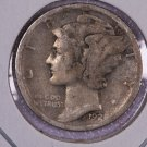 1928-D Mercury Dime.  Good Circulated Coin.  Store Sale # 8652