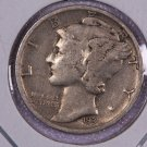 1931-S Mercury Dime.  Very Good Circulated Coin.  Store Sale #8668