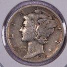 1935 Mercury Dime.  Good Circulated Coin. Store Sale #8674