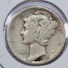 1935-S Mercury Dime.  Good Circulated Coin.  Store Sale #8676.