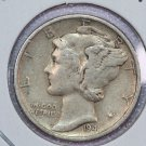 1941 Mercury Dime. Very Good Circulated Coin.  Store Sale #8710.
