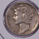 1941-D Mercury Dime. Very Good Circulated Coin.  Store Sale #8714.