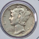 1941-S Mercury Silver Dime.  Very Good Circulated Coin.  Store Sale #8716