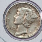 1942-D Mercury Dime.  Very Good Circulated Coin.  Store Sale #8720.