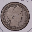 1895-O Barber Quarter.  Very Good Circulated Coin.  Store Sale #8922