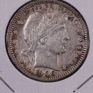 1906-O Barber Quarter.  Very Fine Circulated Coin.  Store Sale #6984.
