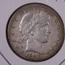 1907-S Barber Quarter.  Very Fine Circulated Coin.  Store Sale #6992.