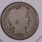 1909-O Barber Quarter.  Good Circulated Coin.  Store Sale #9004.