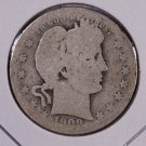 1909-D Barber Quarter.  About Good Circulated Coin.  Store Sale #9008.