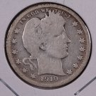1910-D Barber Quarter.  Good Circulated Coin.  Store Sale #9016.