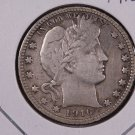 1916-D Barber Quarter.  Very Good Plus Circulated Coin.  Store Sale # 9052.