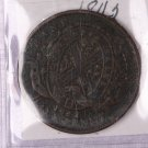 1842 Canada, Bank Of Montreal, Half Penny, Token.  Good Circulated Coin. Store Box #9219.