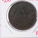 1858 Canada Large Cents.  Extra Fine Circulated Coin.  Store Sale # 9230.