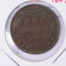 1859 Canada Large Cent.  Circulated Coinage.  V.F.  Store sale #9255