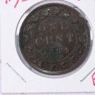 1884-H Canada Large Cent.  Fine Circulated Coin's.  Nice Selection.  Store #9307