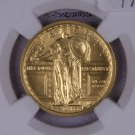 2016 W, GOLD, Standing Liberty , Commemorative. 100th Anniversary Collectible.  NGC Certified, SP70.