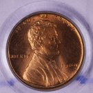 1909 V.D.B. Lincoln Wheat Penny.  PCGS Graded:  MS-64 RED.  NICE.
